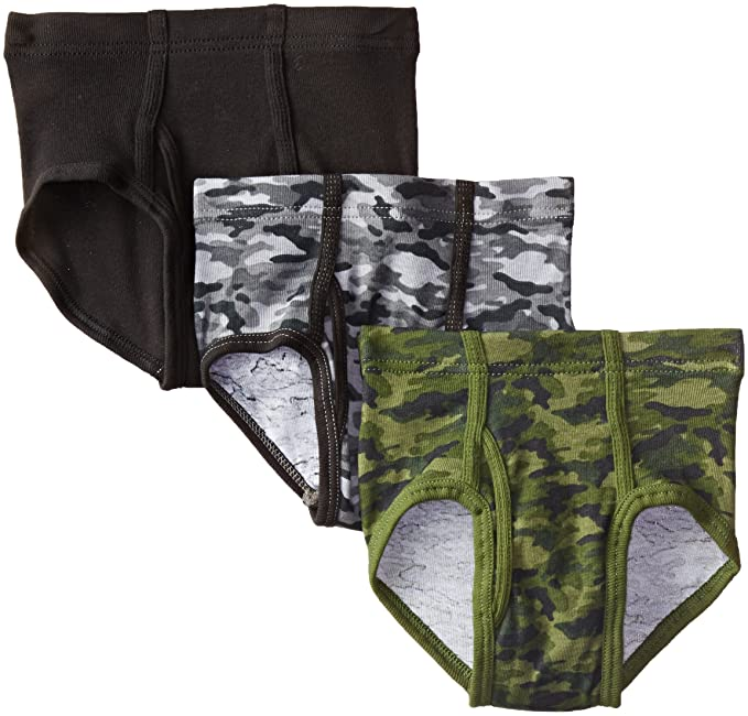 799104d81f48 Amazon.com: Hanes Boys' 3 Pack Ultimate Comfortsoft Printed Brief ...
