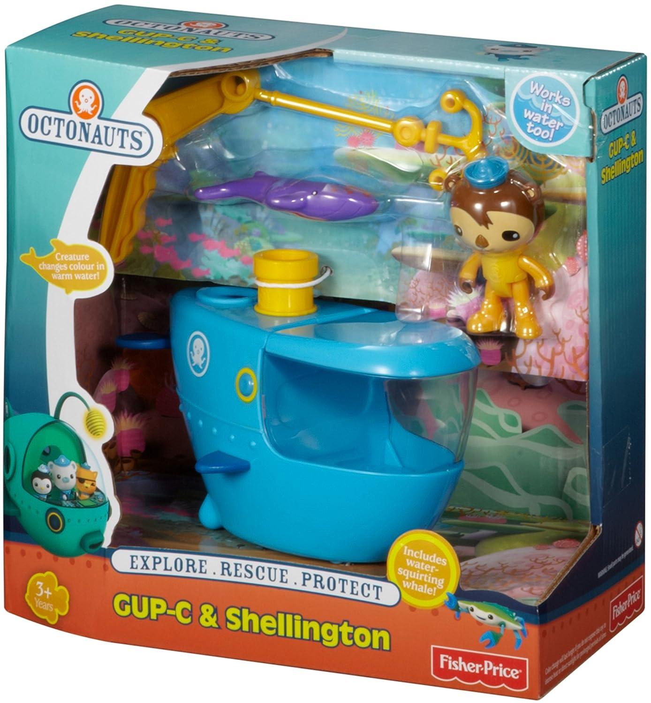 Fisher-Price Octonauts Gup C Playset: Amazon.com.au: Toys & Games