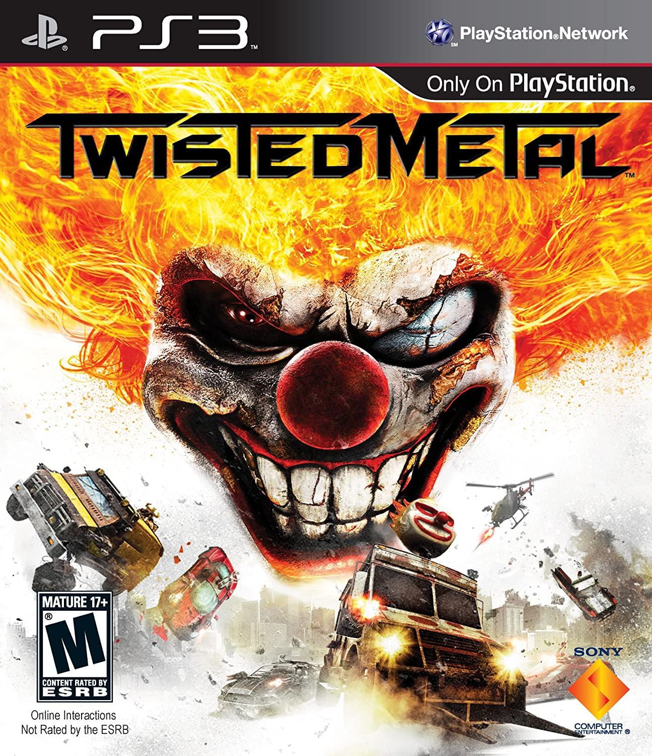 amazon com twisted metal playstation 3 sony computer entertainme