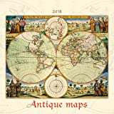 Antique Maps 2018 - Antike Landkarten - Bildkalender (42 x 42)