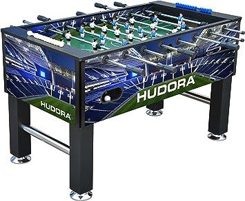 Hudora 71426 Piso Exterior fútbol de Mesa - Futbolín (Piso, Negro, Azul, Exterior, Verde, Blanco, 1394 mm): Amazon.es: Juguetes y juegos
