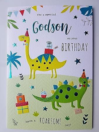 Godson Birthday Card Amazoncouk Kitchen Home