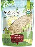 Food To Live Certified Organic Sesame Seeds (Raw, Hulled, Kosher) (1 Pound)