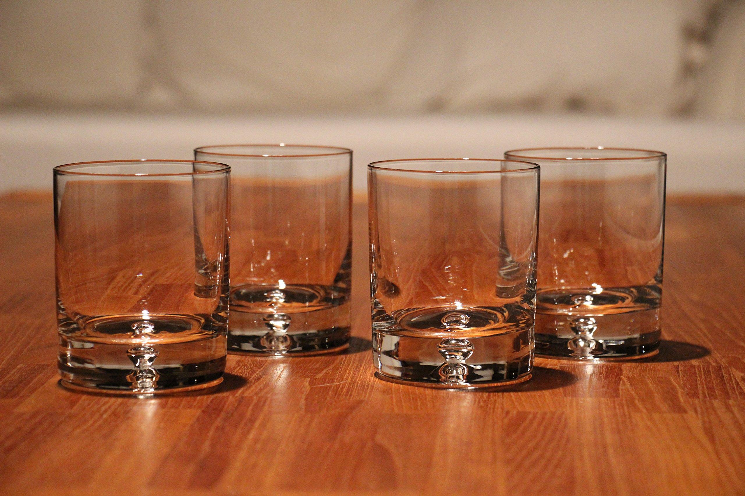Ravenscroft Crystal Kensington Decanter Set. Handmade European Lead-free Crystal