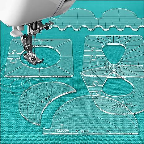 Herramientas de costura para regla de costura, juego de muestras ...