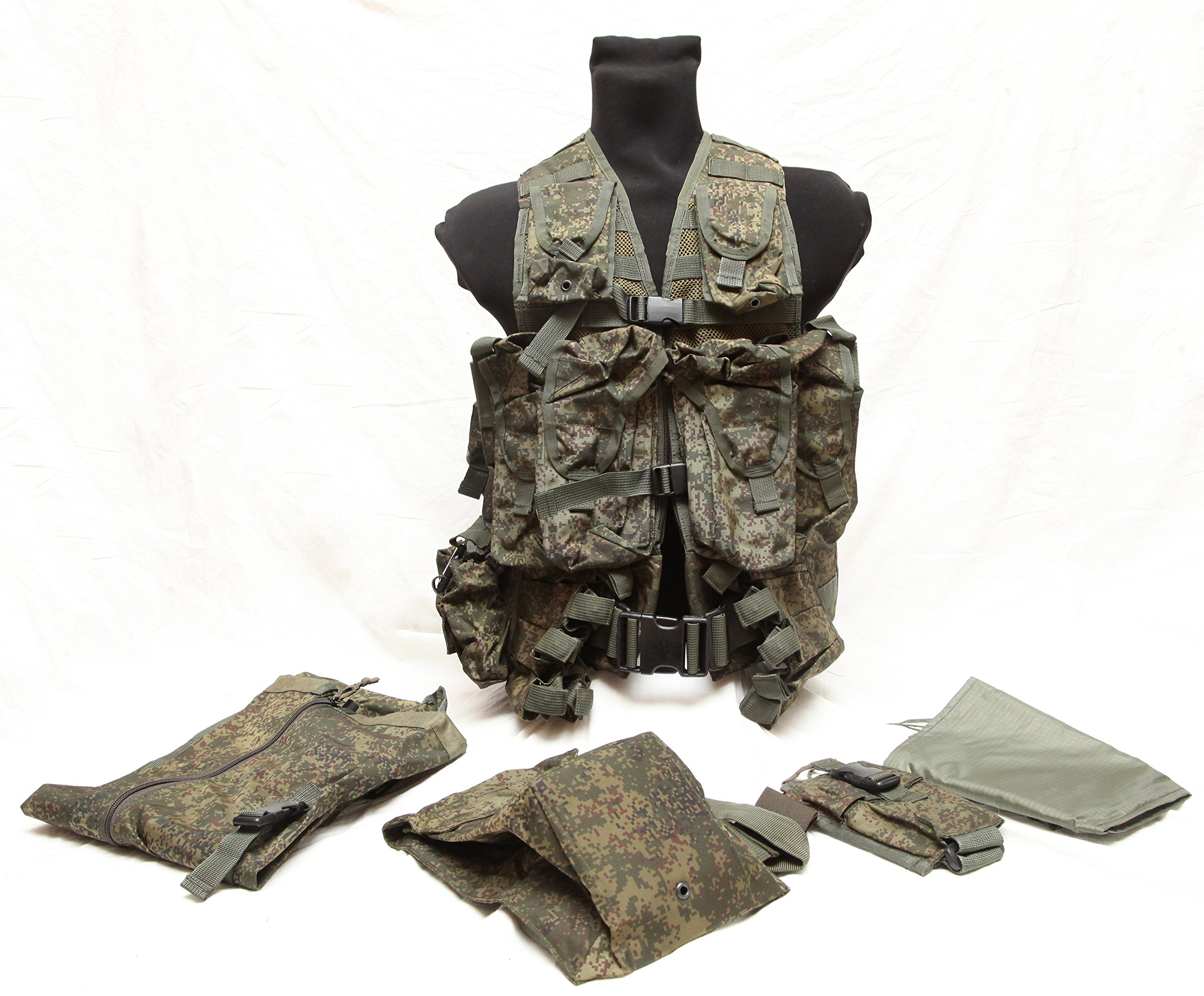 Russian army genuine 6sh117 modular load bearing tactical vest by Zuratkul