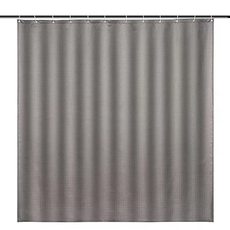 Ammybeddings Gray Solid Shower Curtains Luxury Bath Waterproof100 Polyester 71 X