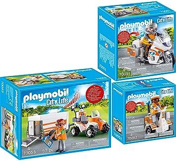 Rettung PLAYMOBIL® City Life 70051 Notarzt Motorrad mit