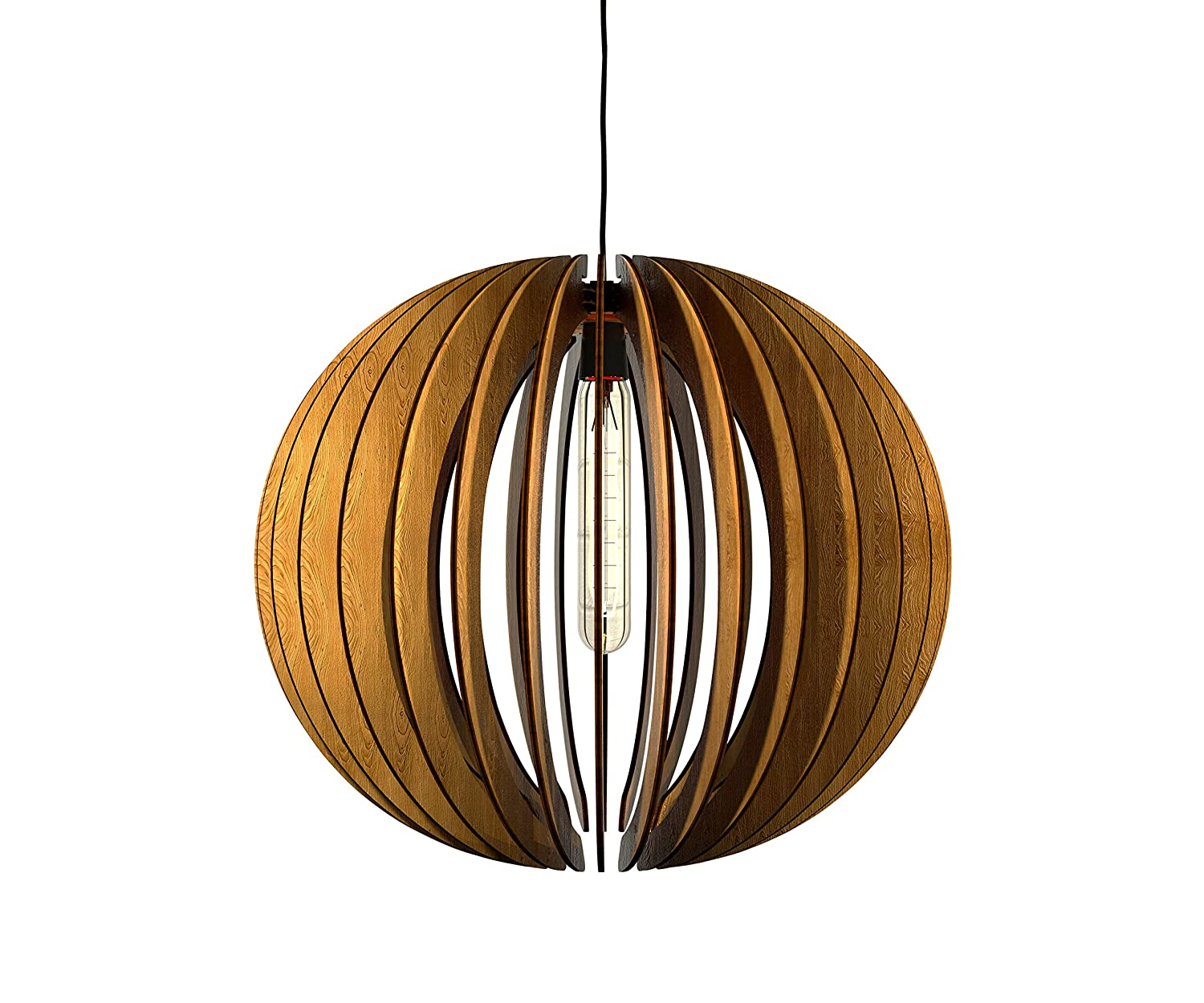 wood pendant lighting. Thr3e Lighting Bowl Pendant Wood Light - Chandelier Amazon.com