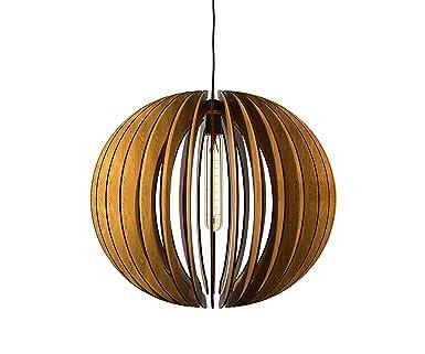 Thr3e Lighting Globe Pendant Wood Light - Wood Pendant Chandelier  sc 1 st  Amazon.com & Thr3e Lighting Globe Pendant Wood Light - Wood Pendant Chandelier ... azcodes.com