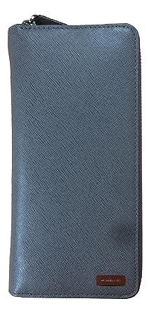 54513f61833e Amazon.com: Michael Kors Andy Tech Zip Around Saffiano Leather ...