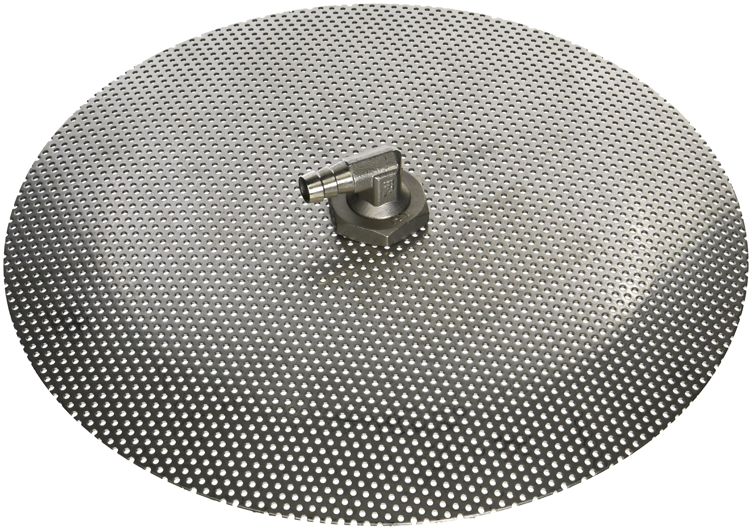 Stainless Steel Domed False Bottom - Select a Size (12'', 10'' or 9'') (10'')