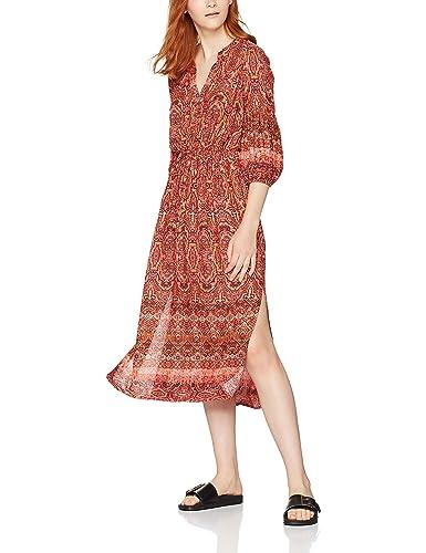 FIND, Vestido con Estampado 'Paisley' para Mujer