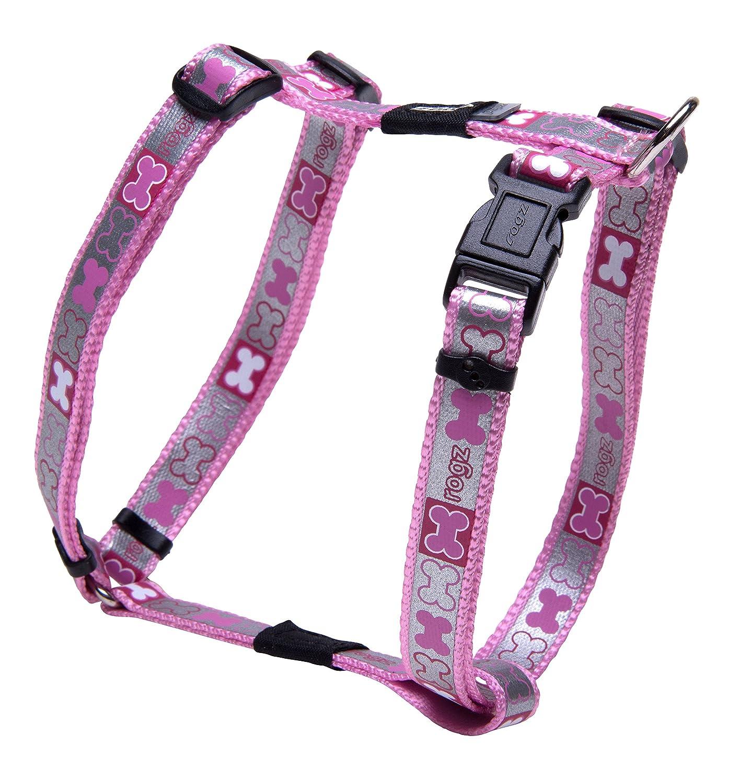 ROGZ Pupz Reflecto H-Harness Pink Small