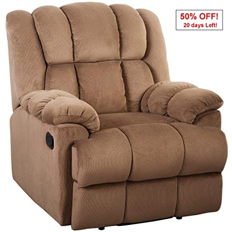 Phenomenal Oversize Recliner Sofa Chair 350Lb Heavy Duty Julyfox Velvet Overstuffed Thick Padded Living Room Lounge Sofa Office Lounge Chair Comfortable Home Gamerscity Chair Design For Home Gamerscityorg