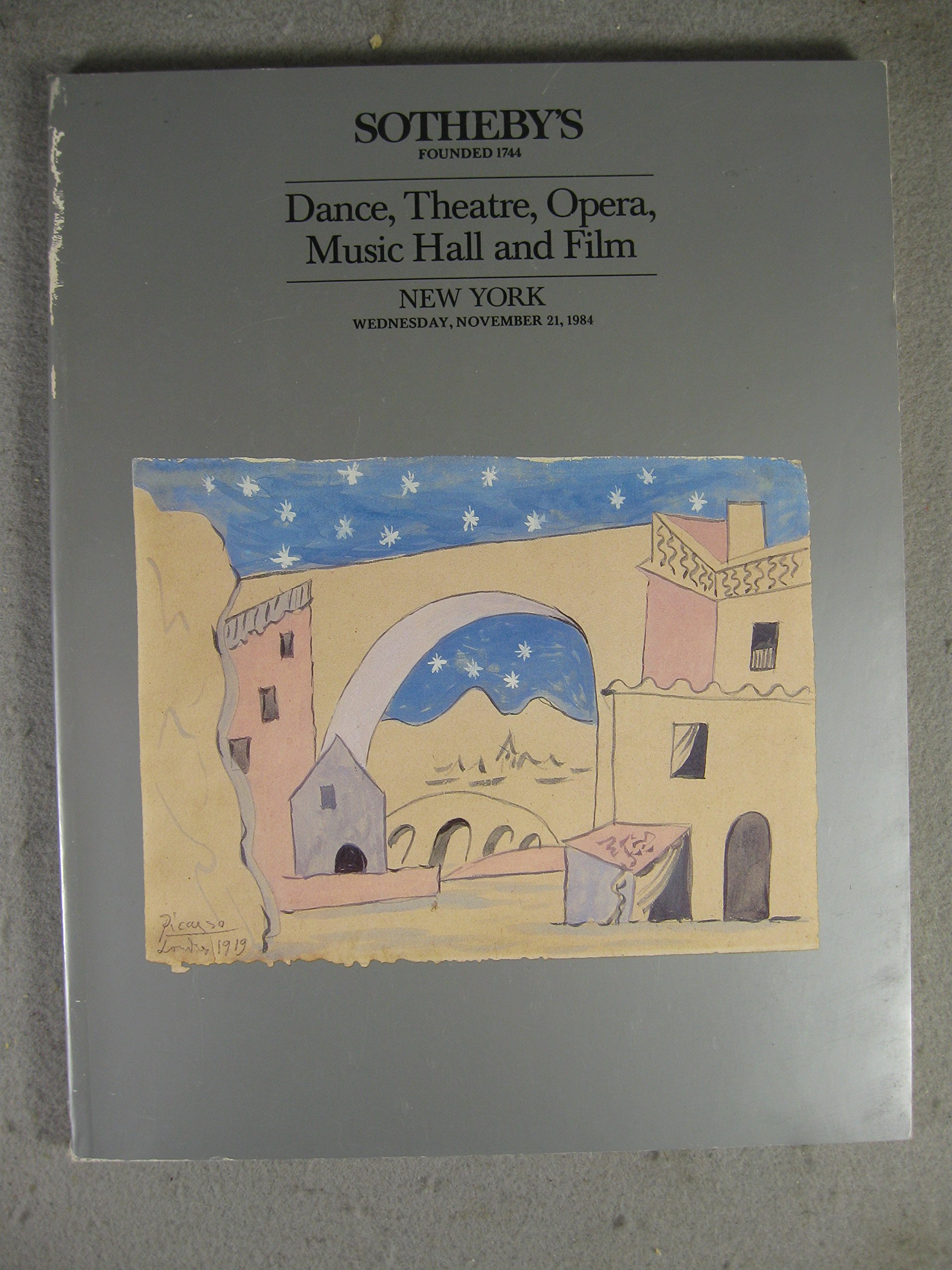 Dance, Theatre, Opera, Music Hall and Film / New York - Wednesday, November 21, 1984