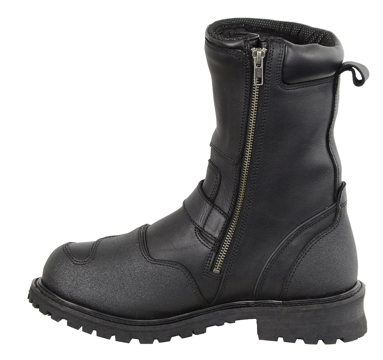 "Milwaukee Leather Mens 9/"" Waterproof Boot Black 13W"