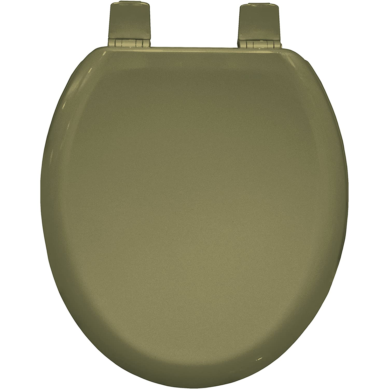 Marfil India Bemis 5001AR Chicago Sta-Tite Moldeado De Madera Del Inodoro Con Sta-Tite Pl/ástico Bisagras