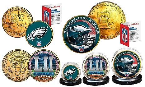 f3d4a3d0d15 Amazon.com  Super Bowl LII 52 NFL Champions PHILADELPHIA EAGLES 3 ...