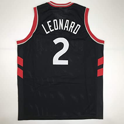 f41731dde Unsigned Kawhi Leonard Toronto Black Custom Stitched Basketball Jersey Size  Men s XL New No Brands Logos at Amazon s Sports Collectibles Store