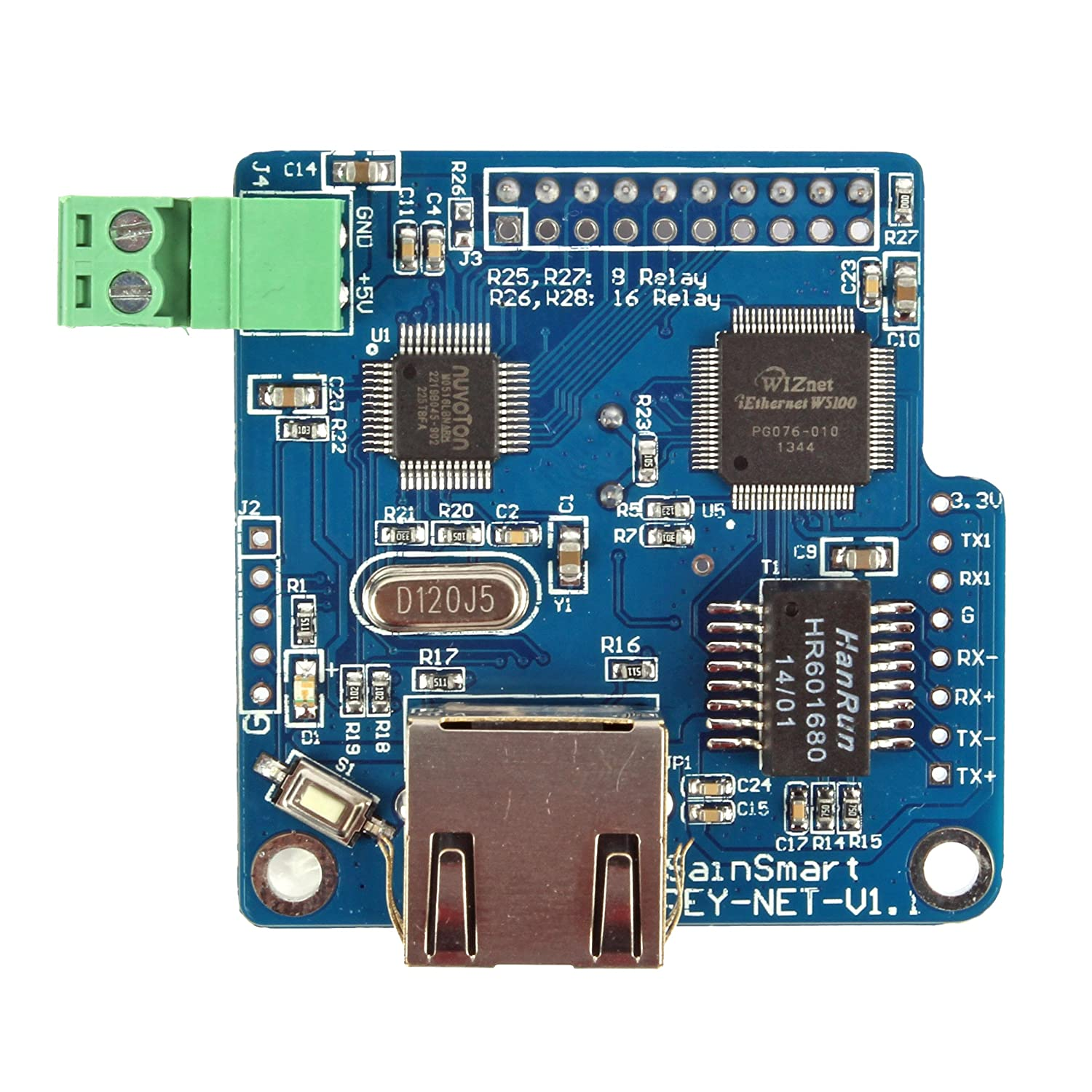 O Remote Control Controller  Module, Rj45 Interface,patible With Arduino, Android Ios Device Control