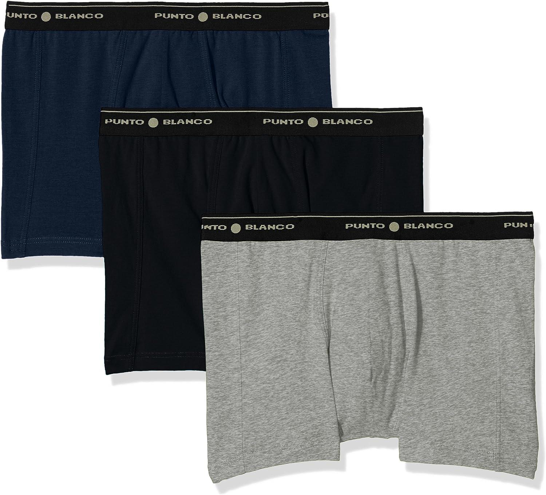 Punto Blanco Triplo Cerrado Basix Boxer, Multicolor(Multicolor595), XX-Large (Tamaño del Fabricante:60) (Pack de 3) para Hombre: Amazon.es: Ropa y accesorios