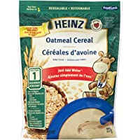 Heinz Baby Oatmeal Cereal with Milk, 227G Bag, 6 Count