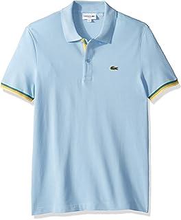 2c153f820c6 Lacoste Men's S/S Slim Fit Pique Polo at Amazon Men's Clothing store: