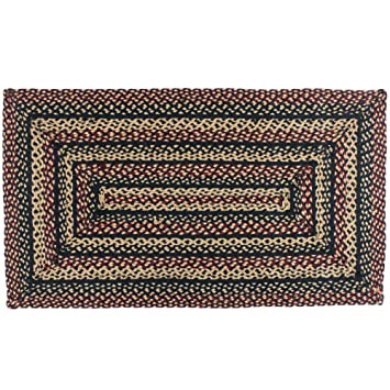 IHF Blackberry Braided Rectangle Area Rug Accent Rugs Jute 20u0026quot ...