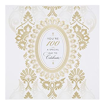 Hallmark 100th Birthday Card QuotSpecial Day To Celebratequot