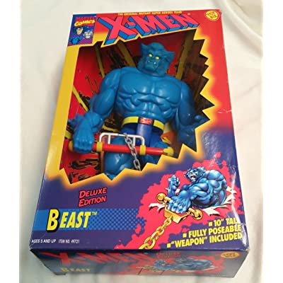 "X - MEN "" BEAST"" DELUX 10"" FIGURE: Toys & Games"