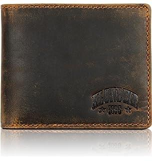 Klondike 1896 Mini cartera de cuero auténtico Noah en ...
