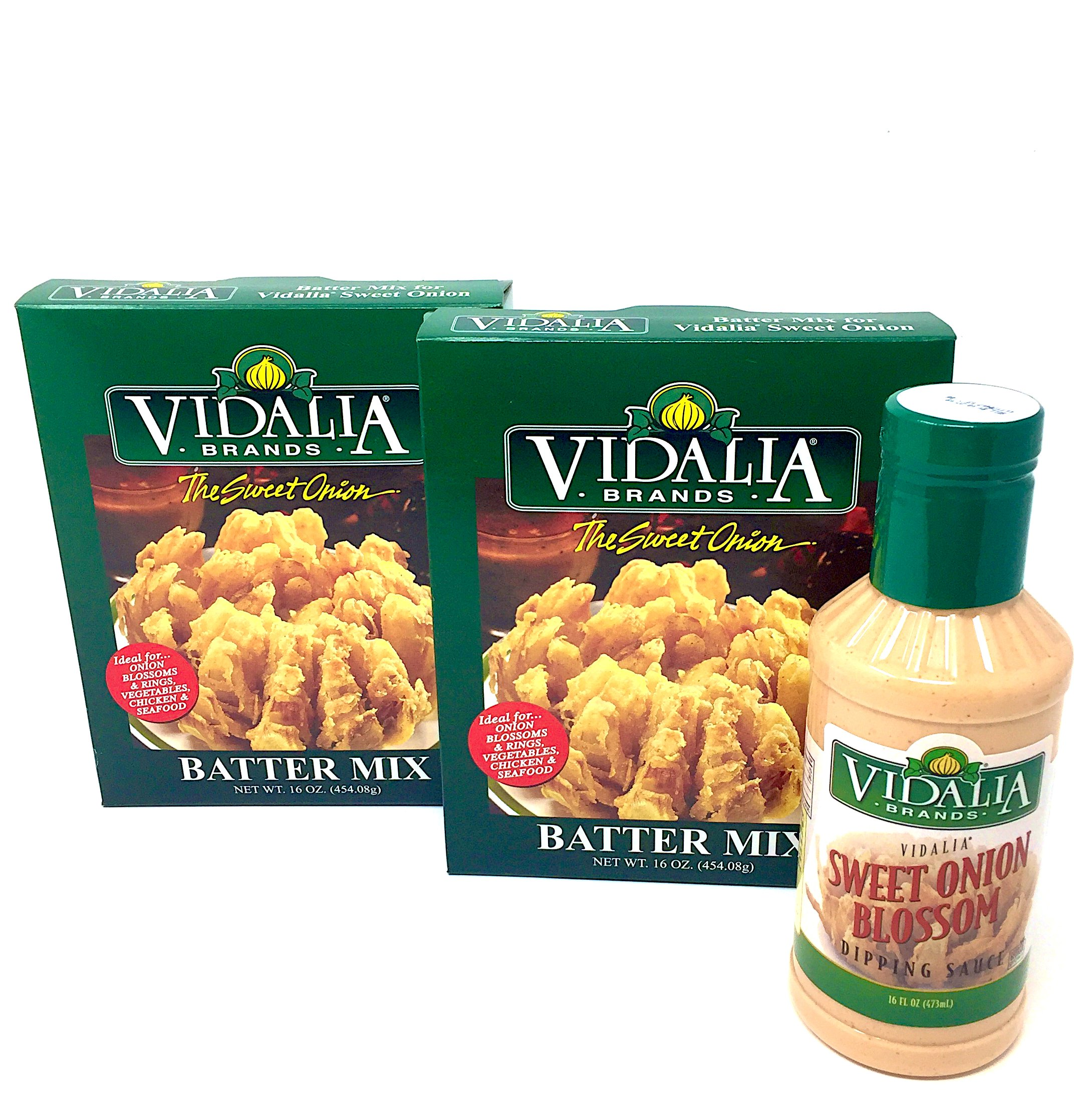 Fried Batter Mix and Blossom Dipping Sauce - Vidalia Brands - Blooming Onion, Chicken Fingers, Fish, Fried Mushrooms, More!