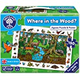 Orchard toys world map jigsaw puzzle and poster amazon orchard toys where in the wood jigsaw puzzle gumiabroncs Image collections