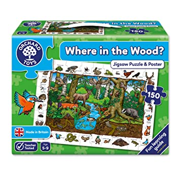Orchard toys where in the wood jigsaw puzzle amazon toys orchard toys where in the wood jigsaw puzzle gumiabroncs Image collections
