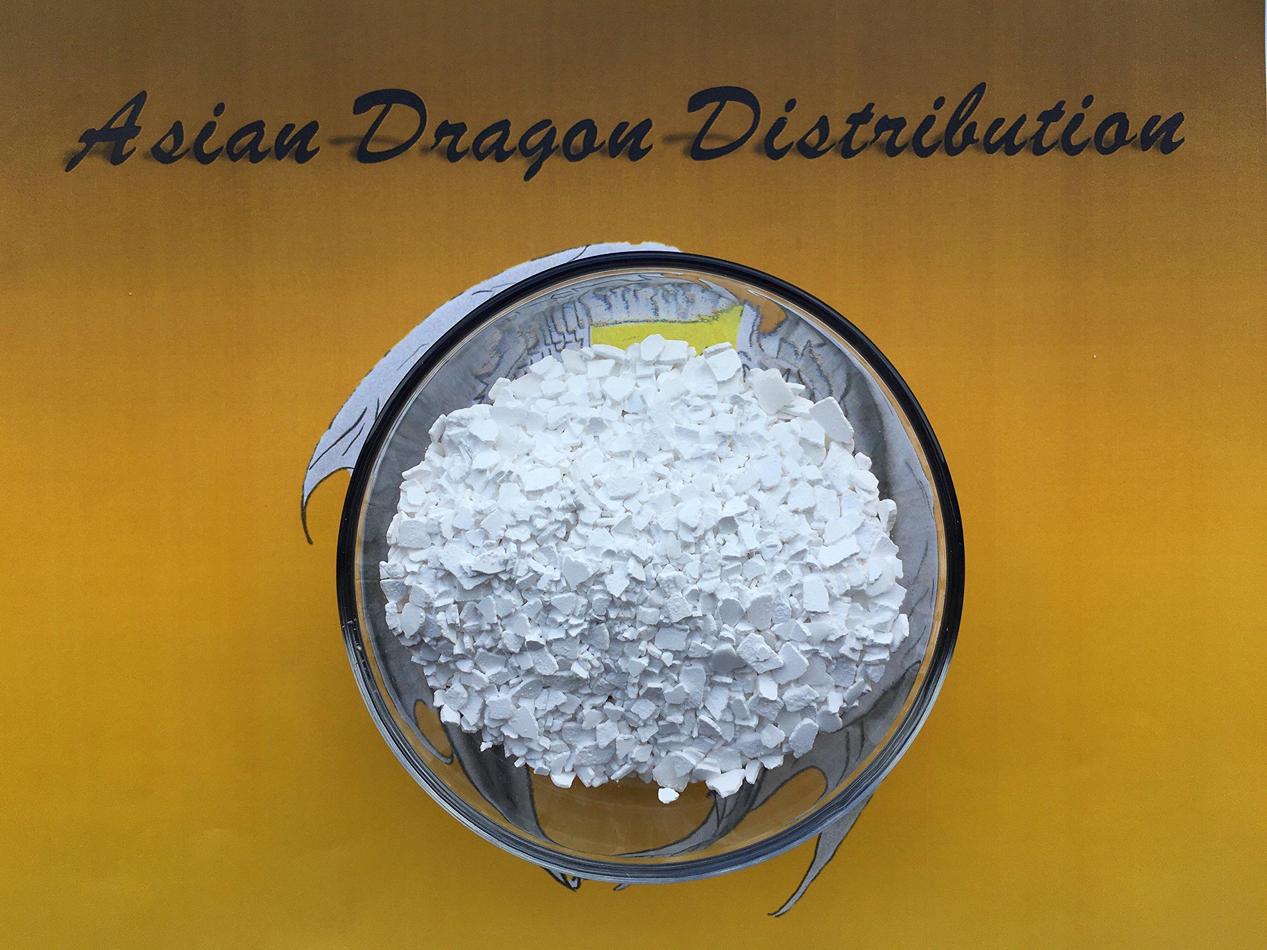 Calcium Chloride Flakes 99% Min. Purity 10lb INDUSTRIAL GRADE