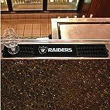 FANMATS NFL Oakland Raiders Vinyl Drink Mat