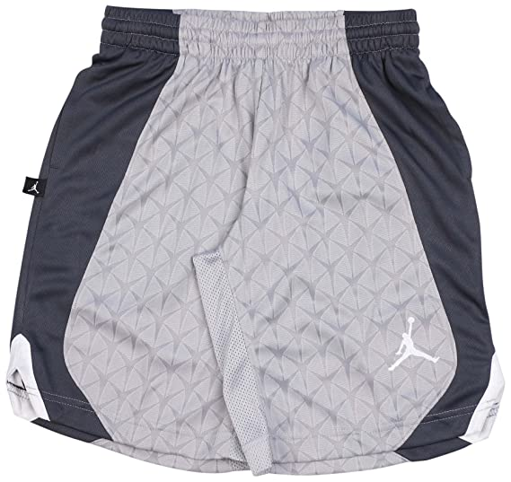 7187aaf066e6 Amazon.com  Air Jordan Boys Dri-Fit Flight Knit Basketball Shorts  Sports    Outdoors