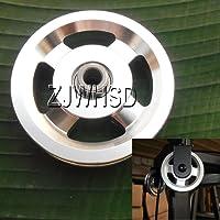 Universel 93mm en aluminium Roulement Poulie de roue pour gym Fitness exercice pièces de rechange d'Abbott
