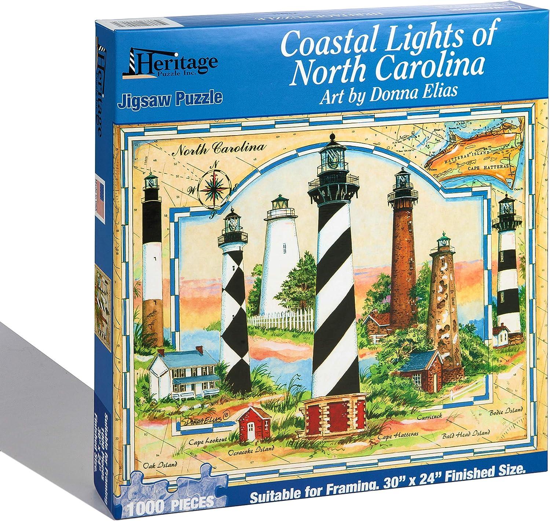 Coastal Del-Mar-Va Heritage Puzzle Donna Elias Jigsaw Puzzle 1000 Pc