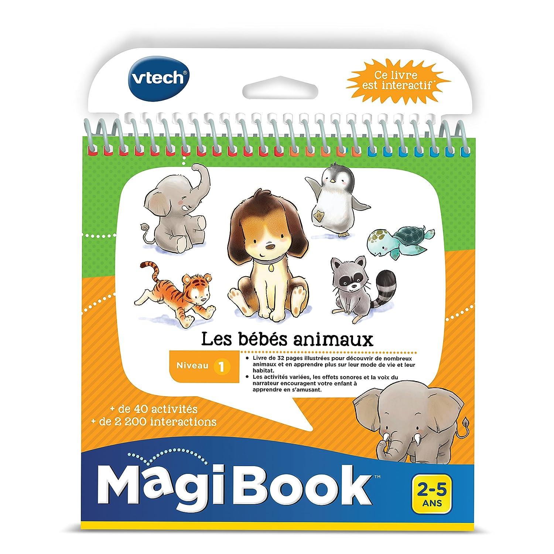 480005 Magibook VTech Le Bébés Animaux
