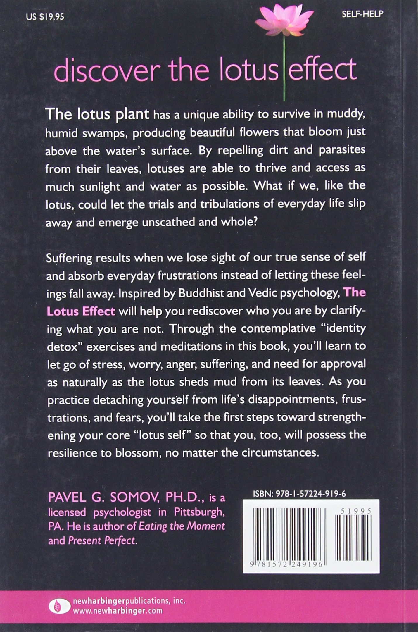 Amazoncom The Lotus Effect Shedding Suffering And Rediscovering