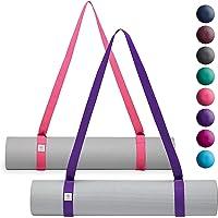 gaiam Easy-Cinch Eslingas para tapete de Yoga (se Venden Individualmente en Opciones de Colores Surtidos)