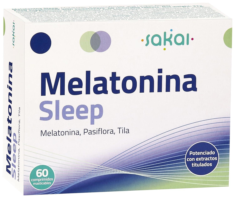 Sakai Melatonina Sleep Complemento Alimenticio - 60 Tabletas: Amazon.es: Salud y cuidado personal