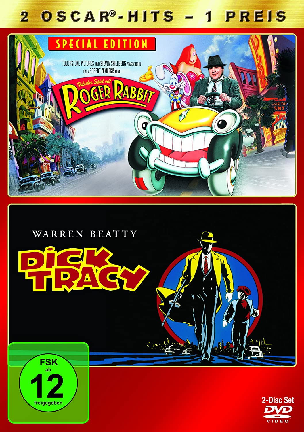 Falsches Spiel mit Roger Rabbit / Dick Tracy [2 DVDs]: Amazon.de ...