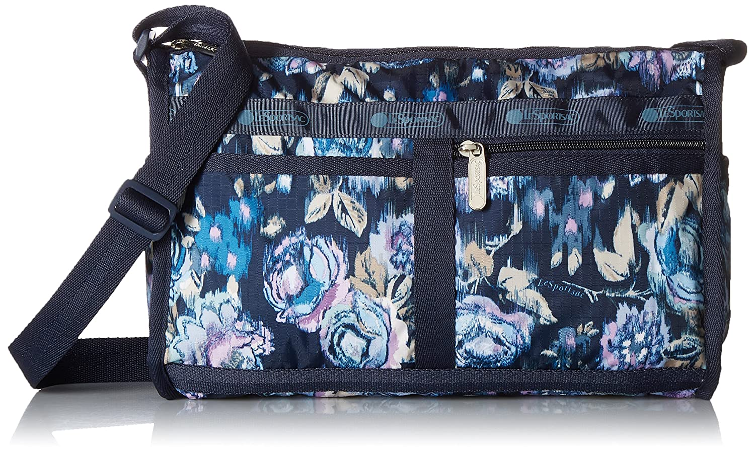 [レスポートサック] ショルダーバッグ DELUXE SHOULDER SATCHEL 軽量 7519 [並行輸入品] B076M4NDGV Night Blooms Blue Night Blooms Blue