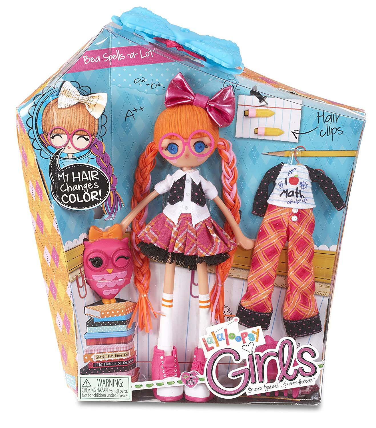 Amazon Lalaloopsy Girls Bea Spells A Lot Doll Toys Games