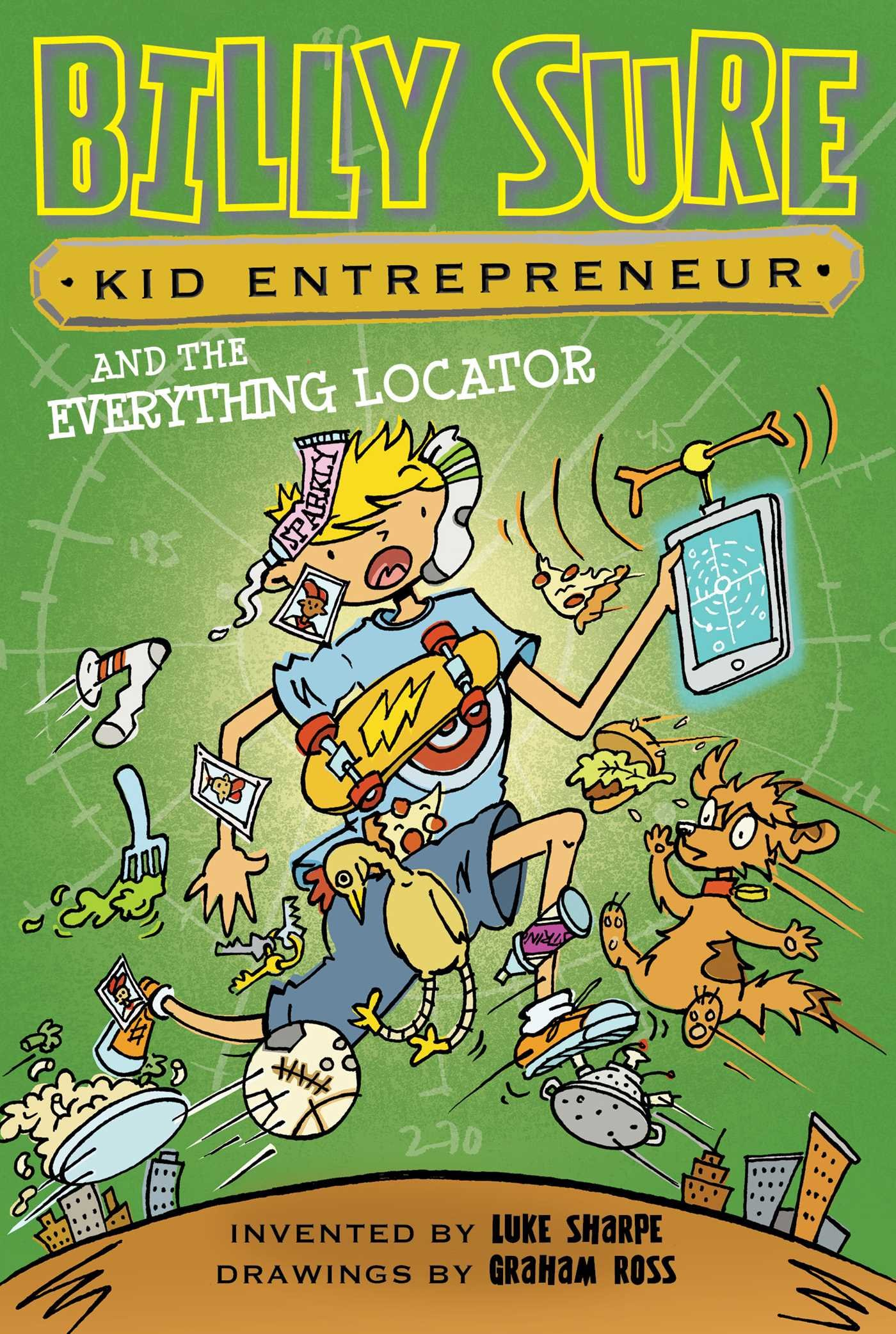 Download Billy Sure Kid Entrepreneur and the Everything Locator pdf