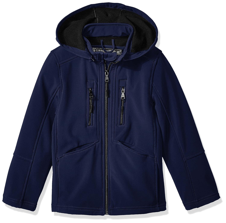 Urban Republic Boys Soft Shell Zip Off Hood Jacket