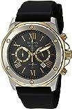 Bulova Men's Marine Star Chronograph Watch with Black Silicone Strap